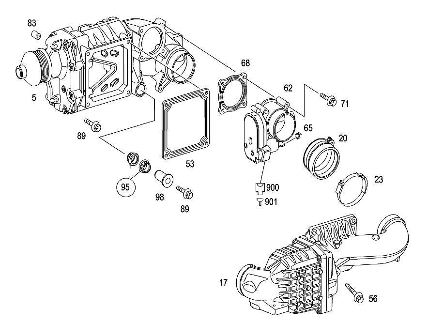 mercedes c230 parts diagram